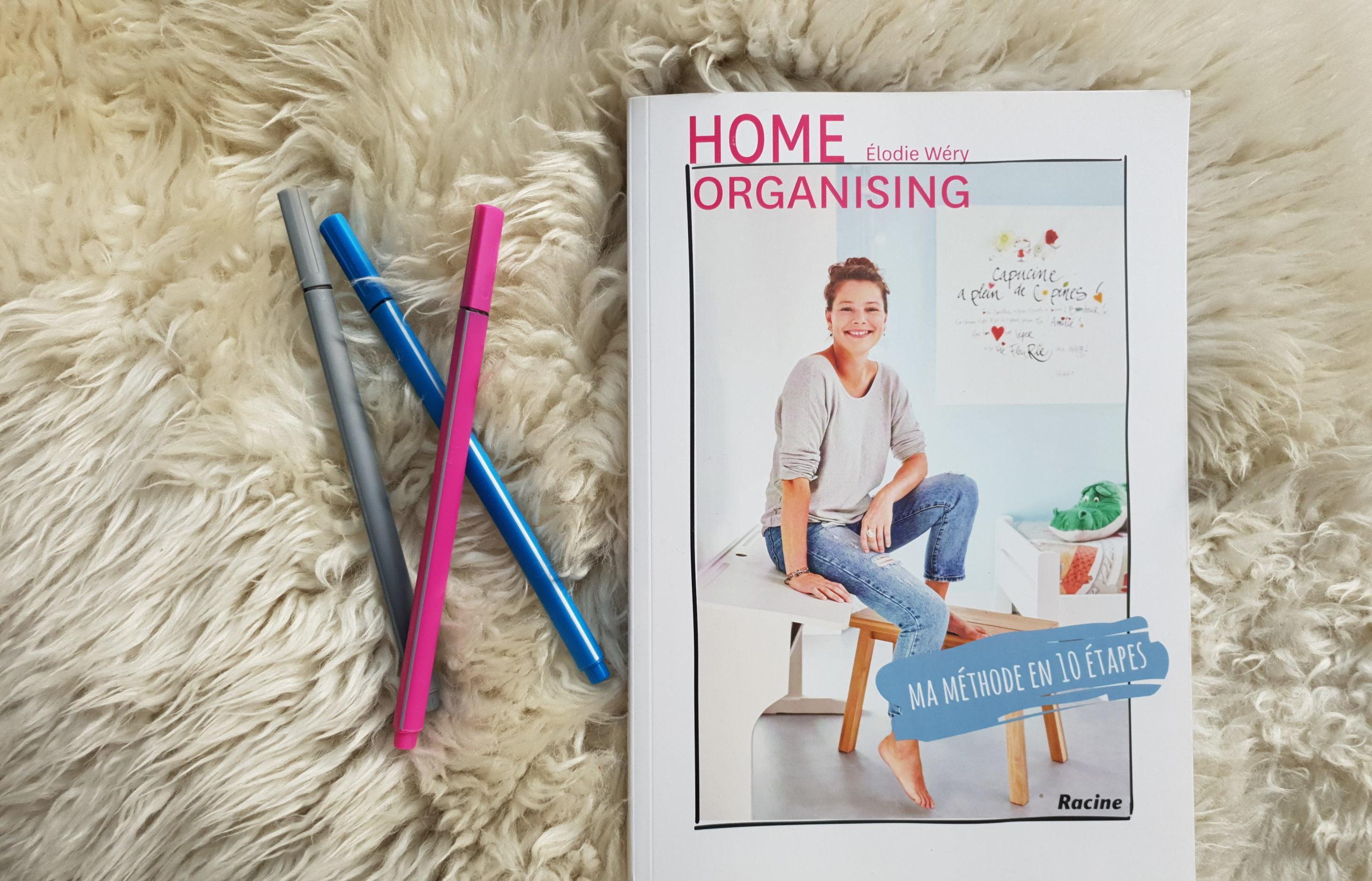 Elodie Wery Home organising ma méthode en 10 étapes